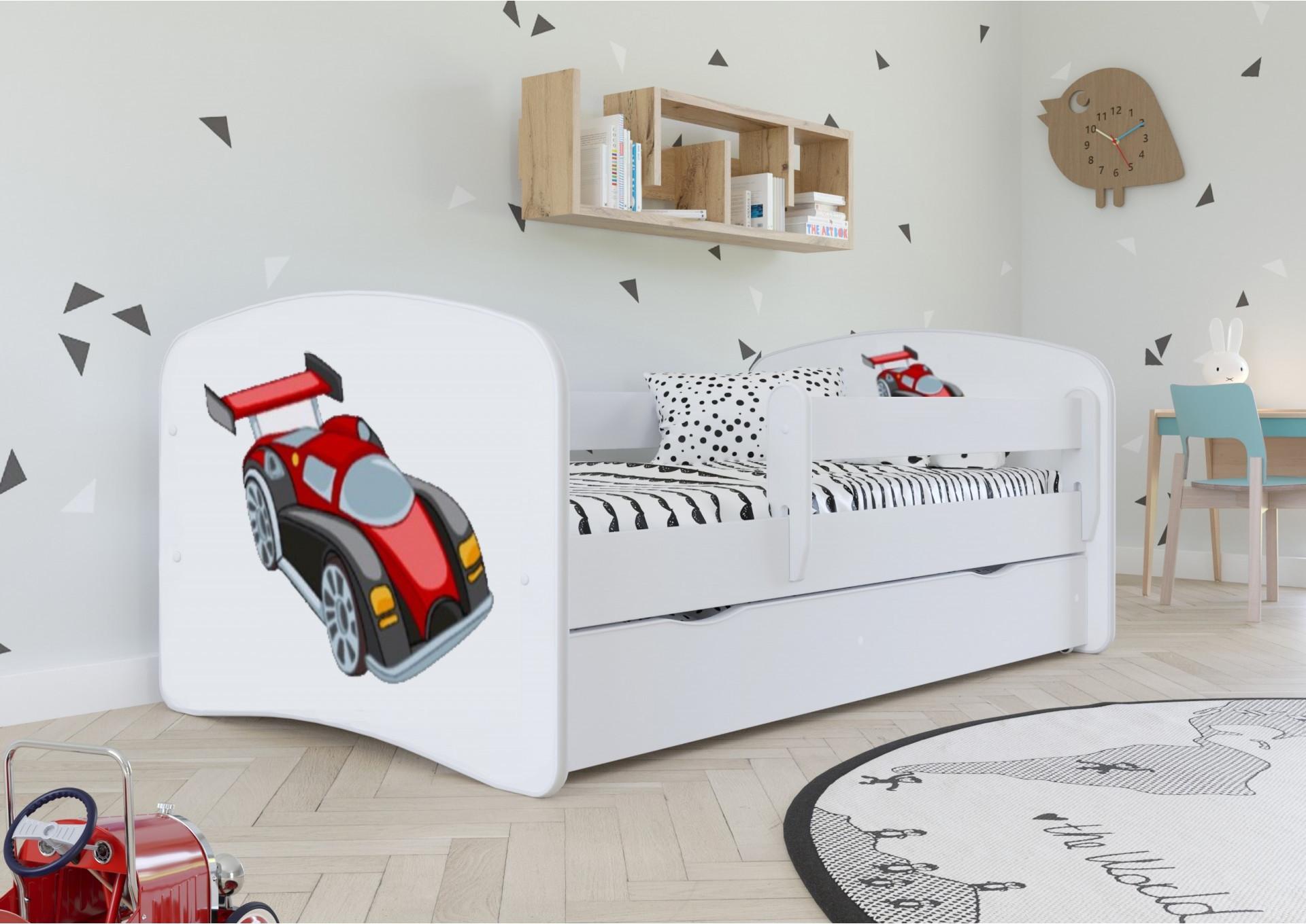 Łożko dla chłopca - auto wyścigowe