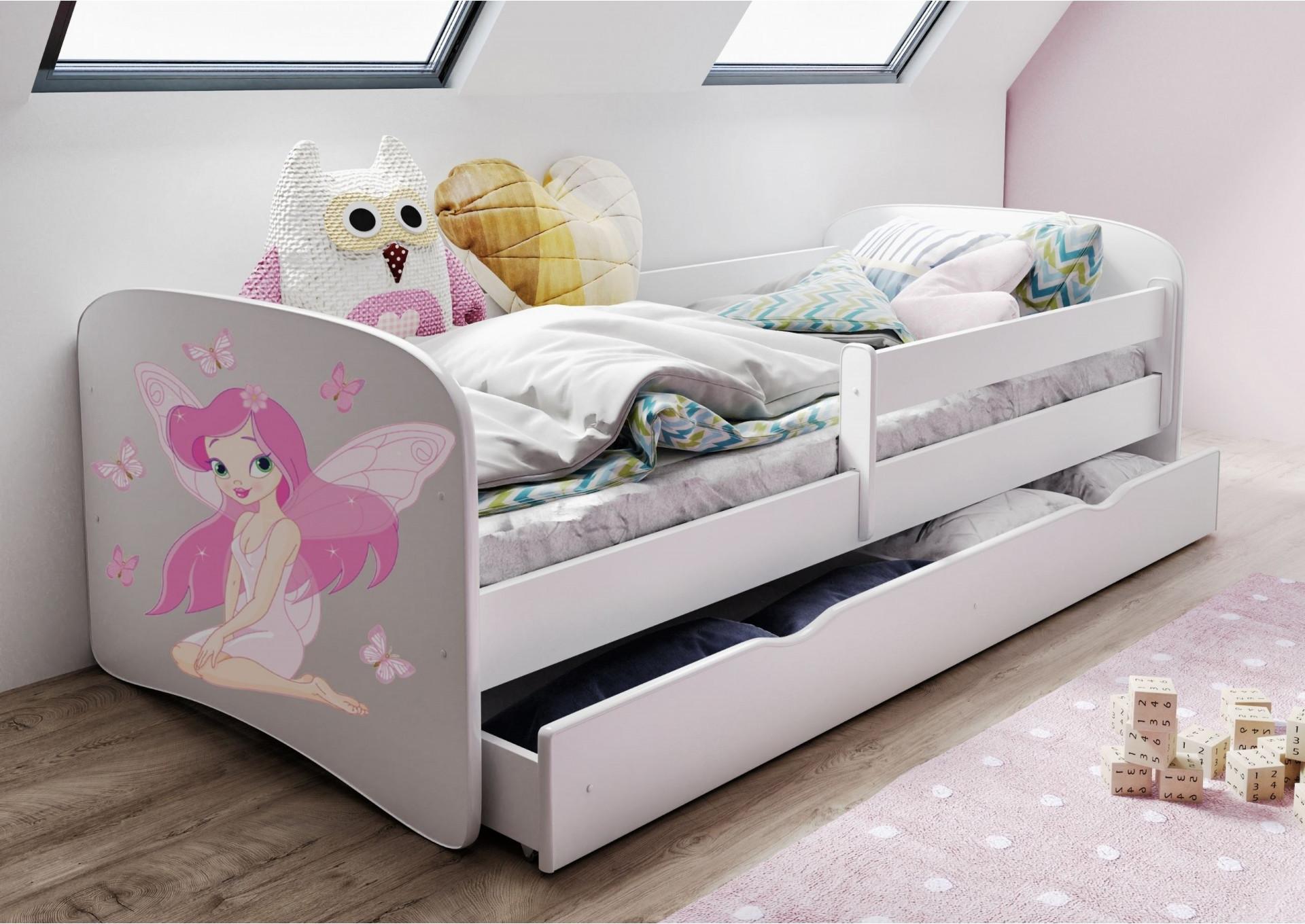 Łóżka dla dzieci z grafiką