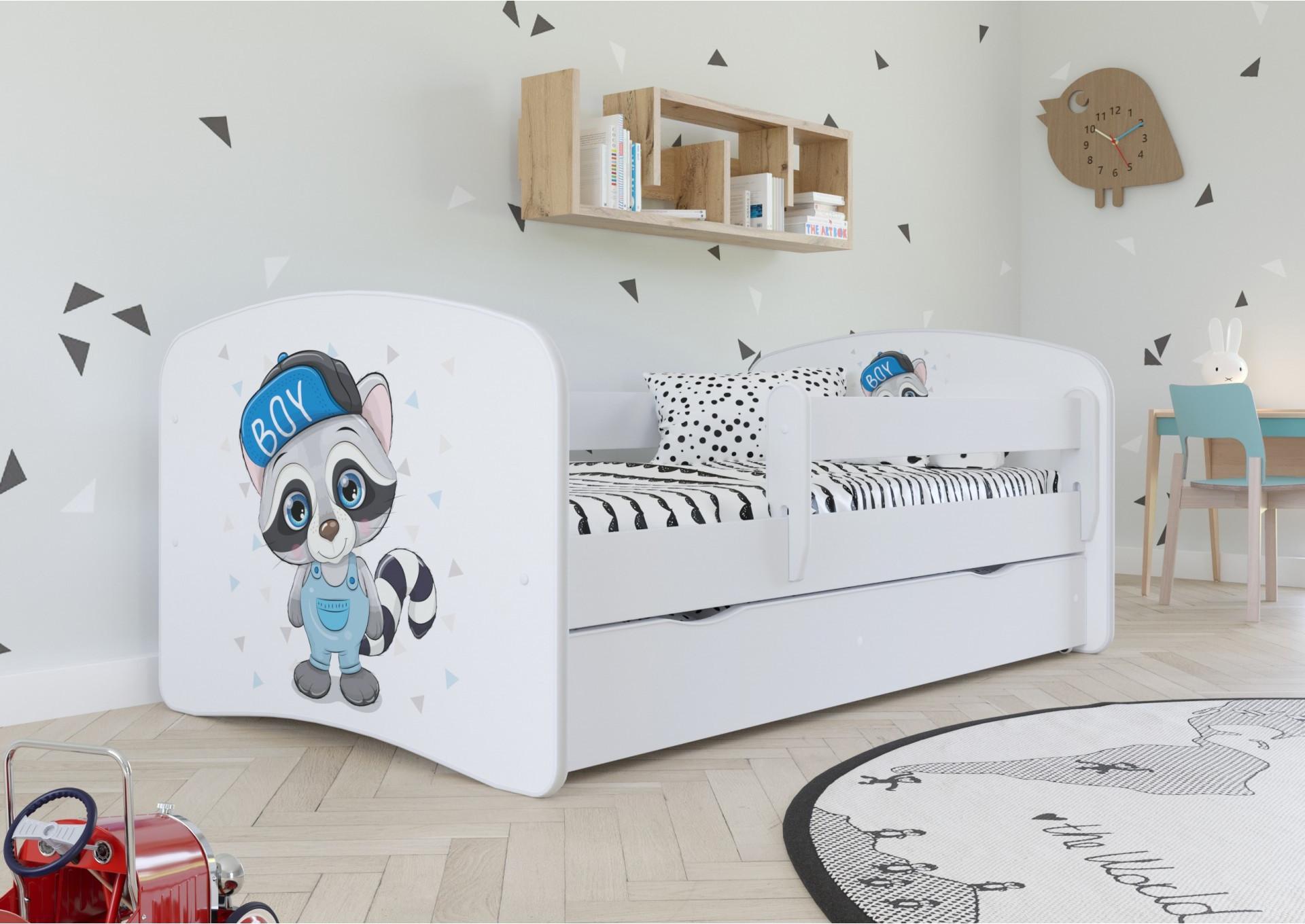 łóżka dla chłopca z grafiką