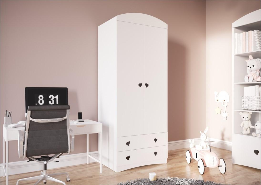 szafy do pokoju dziewczynki